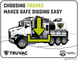 TRUVAC Safe Digging Coloring Book