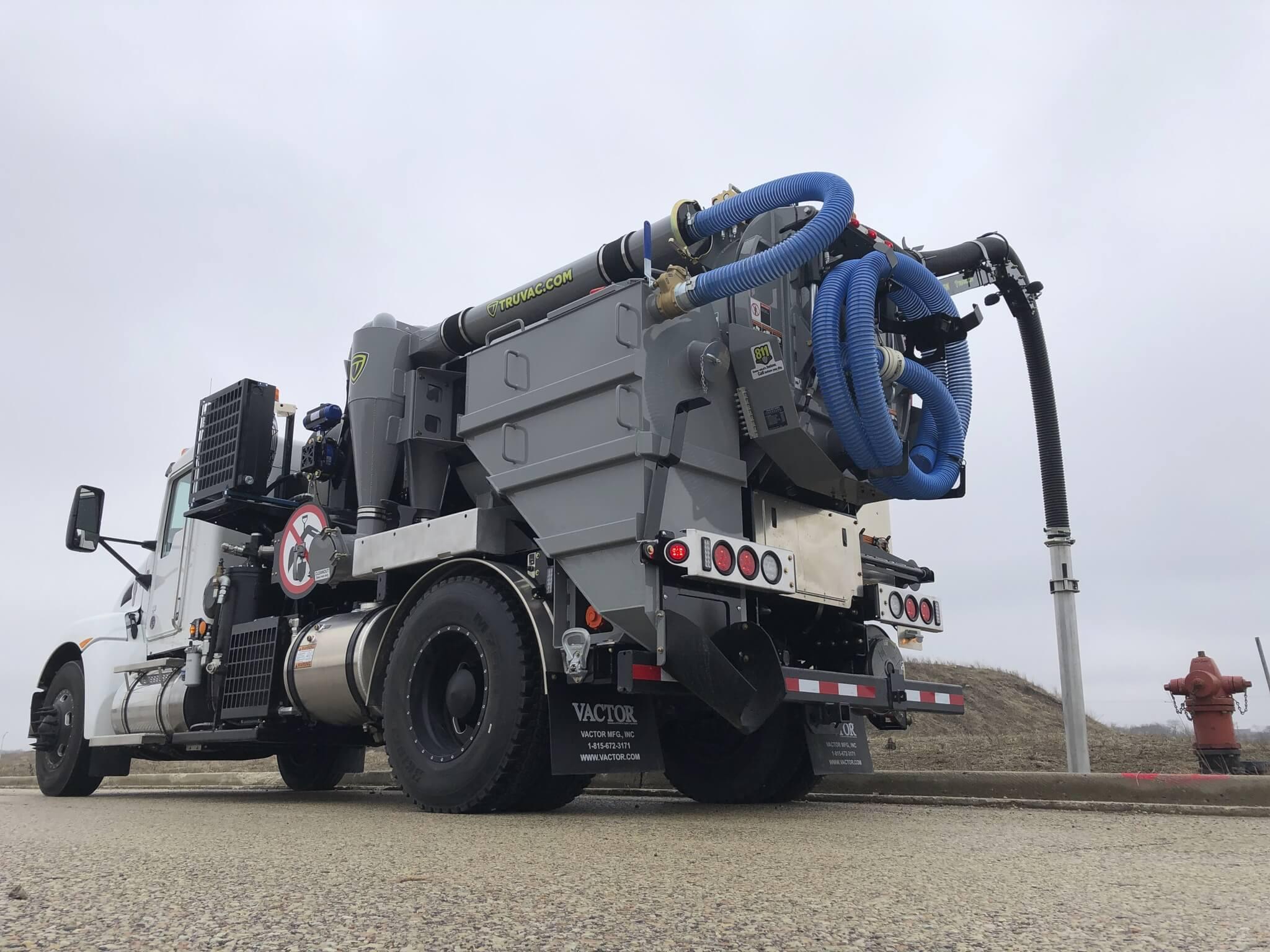 Vactor Paradigm Small Vacuum Excavator