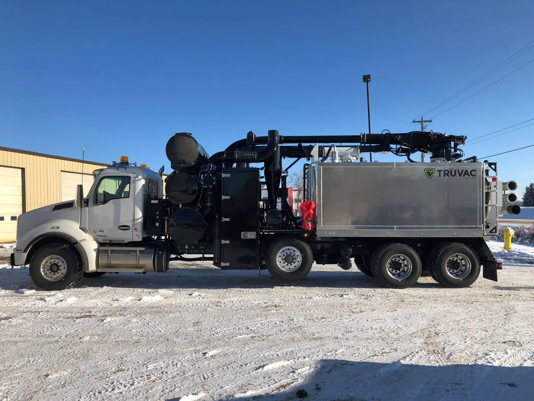 Westech Wolf Vacuum Oilfield Truck