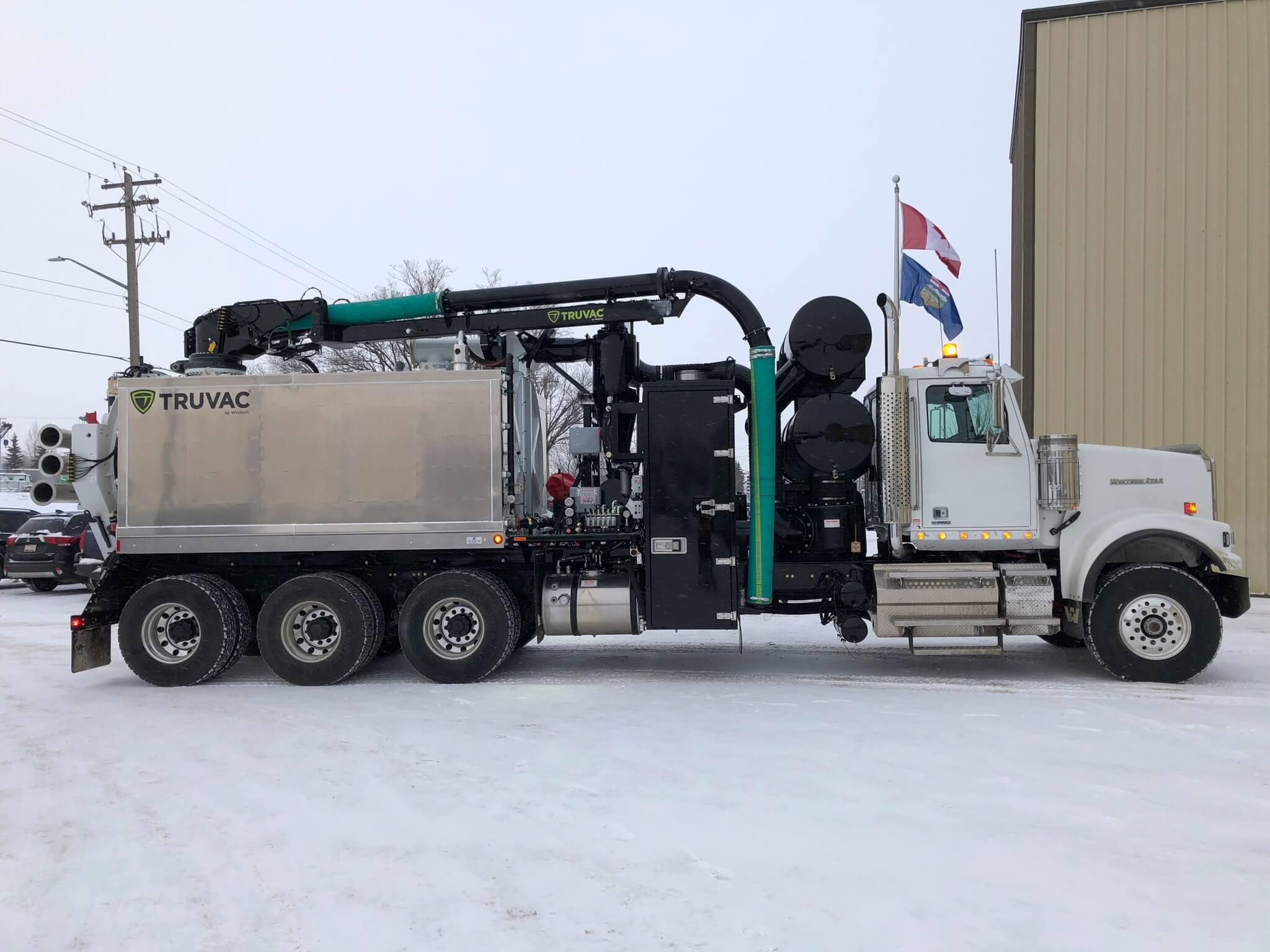Westech Wolf Oilfield Vacuum Truck